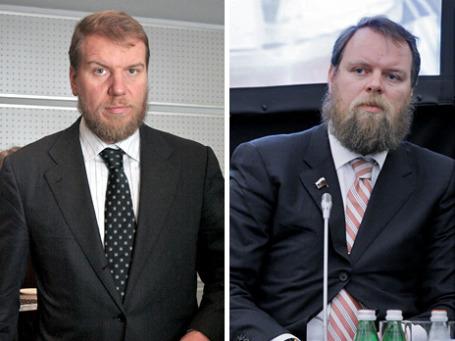 Братья Алексей и Дмитрий Ананьевы делят 38-е и 39-е места в списке журнала Forbes «100 богатейших бизнесменов России 2010». Фото: ИТАР-ТАСС, РИА Новости