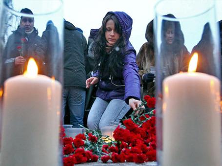 На месте теракта в «Домодедово».Фото: РИА Новости
