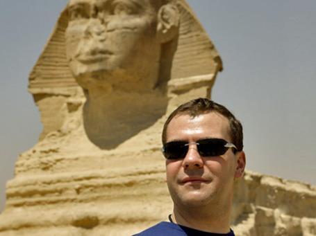 Во время своего визита в Египет в 2009 году Дмитрий Медведев нашел общий язык с Мубараком. Теперь, похоже, придется начинать все заново . Фото: РИА Новости