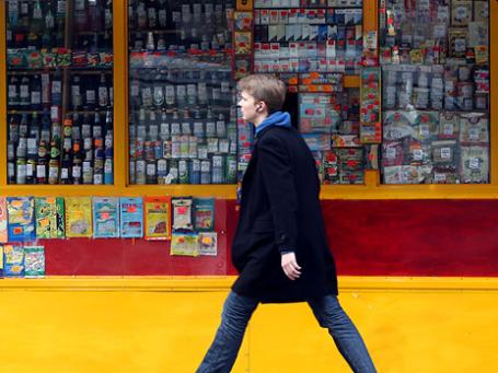 В Москве помилованы только рыбные киоски, большая часть других предприятий фаст-фуда будет закрыта. Фото: Григорий Собченко/BFM.ru