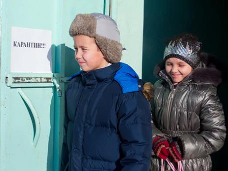 Карантинные мероприятия в школах увенчались успехом. Фото: РИА Новости