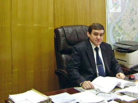 Председатель Хамовнического суда Виктор Данилкин. Фото: hamovnichesky.msk.sudrf.ru