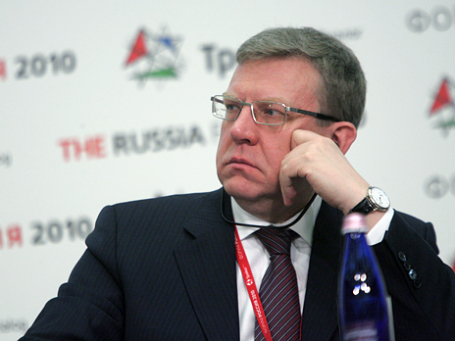 Министр финансов РФ Алексей Кудрин. Фото: Григорий Собченко/BFM.ru