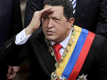 Уго Чавес с думой о будущем. Фото: AP
