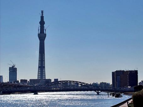 Телебашня Tokio Sky Tree стала самой высокой в мире. Фото: COG LOG LAB./flickr.com