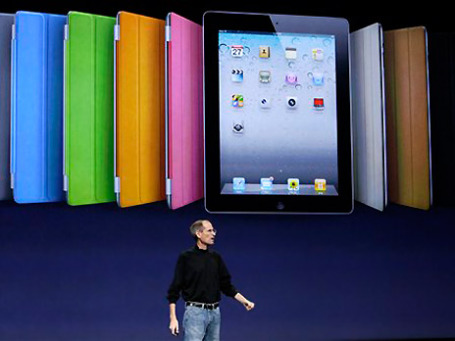 Роль Стива Джобса, харизматичного лидера компании, в успехе Apple трудно переоценить. Фото: АР