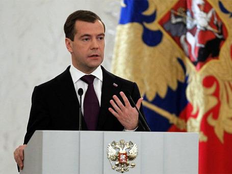 Президент России Дмитрий Медведев. Фото: kremlin.ru