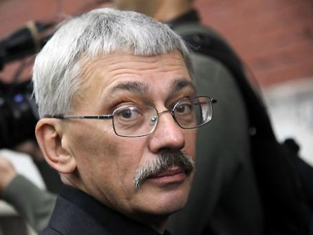 Глава центра «Мемориал» Олег Орлов. Фото: РИА Новости