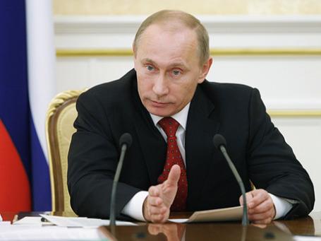 Премьер-министр РФ Владимир Путин. Фото: РИА Новости