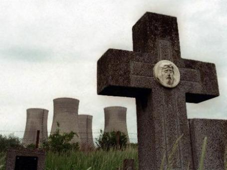 Реактор Моховце в Словакии.  После взрыва в Фукусиме европейская пресса сразу же вспомнила об этой «самой опасной АЭС в Европе». Фото: AP