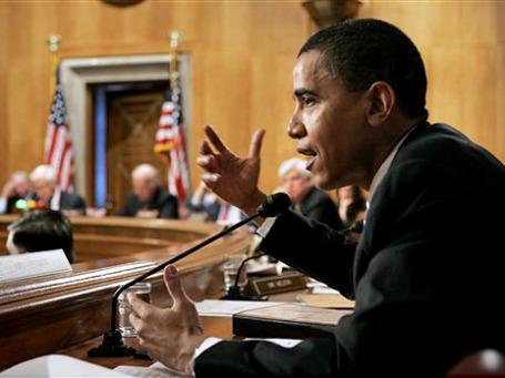 Президент Барак Обама меньше всего хотел ввязываться в третью по счету войну против мусульманской страны. Фото: AP