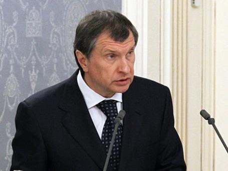 Вице-премьер РФ Игорь Сечин. Фото: РИА Новости