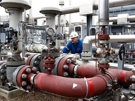 Крупнейшая немецкая нефтегазодобывающая компания Wintershall планирует расширить добычу газа в Сибири в партнерстве с «Газпромом». Фото: AP