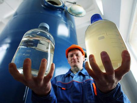 Для дезинфекции водопроводной воды в ближайшем будущем по-прежнему будет применяться хлор. Фото: РИА Новости