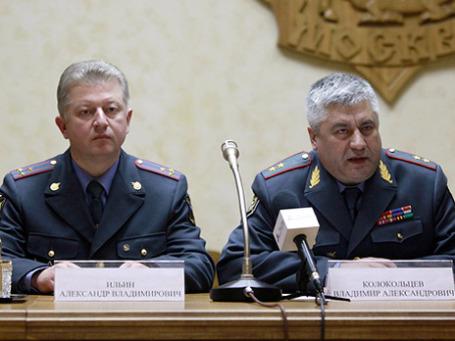 Александр Ильин и Владимир Колокольцев. Фото: РИА Новости