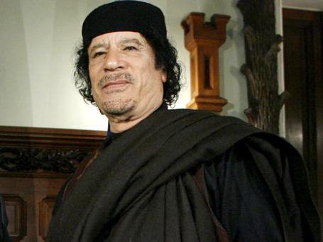 У Муаммара Каддафи были странные привычки. Фото: РИА Новости