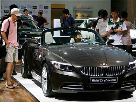 Рост продаж немецких автомобилей вообще и BMW в частности обусловил спрос в Китае. Фото: AP
