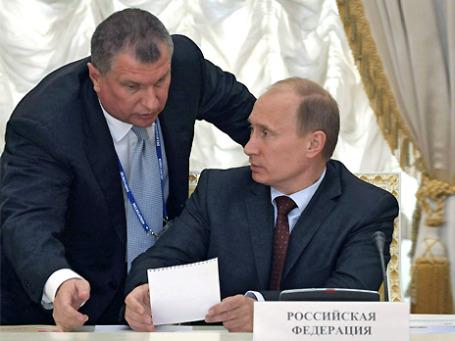 Игорь Сечин частично согласился с Владимиром Путиным, заподозрившим нефтяников в сговоре. Фото: РИА Новости