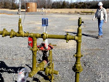 Украина ведет переговоры о поисках сланцевого газа с тремя крупными западными компаниями: Exxon Mobil, Chevron и Shell. Фото: AP