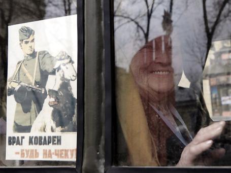 Ретро-автопробег военной техники времен Великой Отечественной войны в Санкт-Петербурге. Фото: РИА Новости