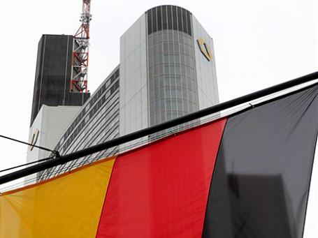 Штаб-квартира немецкого Commerzbank во Франкфурте. Фото: AP