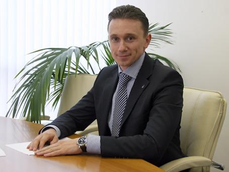 Заместитель председателя правления банка «Уралсиб» Илья Филатов. Фото предоставлено пресс-службой банка «Уралсиб»