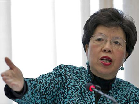 Генеральный директор ВОЗ Маргарет Чен жалуется на нехватку средств. Фото: AP