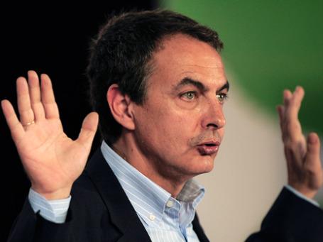 Хосе Луис Родригес Сапатеро сдал позиции на выборах в воскресенье. . Фото: AP
