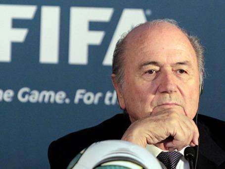 Президент ФИФА Йозеф Блаттер. Фото: РИА Новости