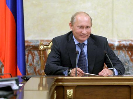 Владимир Путин провел заседание правительства РФ. Фото: РИА Новости
