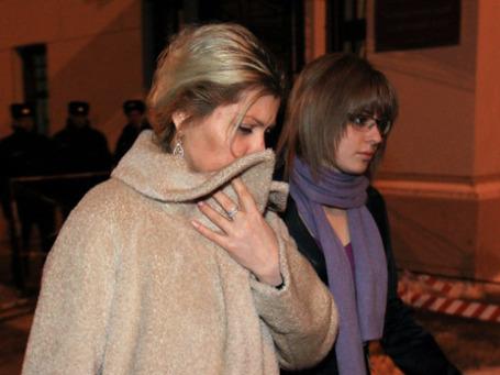 Инна Ходорковская и дочь Анастасия. Фото: РИА Новости