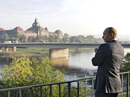 Владимир Путин удостоен «Квадриги» за вклад в улучшение немецко-российских отношений. Фото: AP