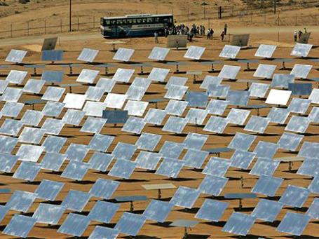 ЕС делает ставку на энергию солнца. Фото: AP