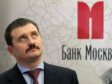 Глава Банка Москвы Михаил Кузовлев сообщил, что ВТБ вернулся к переговорам с акционером о сроках консолидации акций. Фото: РИА Новости
