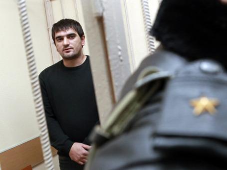 Аслан Черкесов, главный обвиняемый по делу об убийстве Егора Свиридова. Фото: РИА Новости