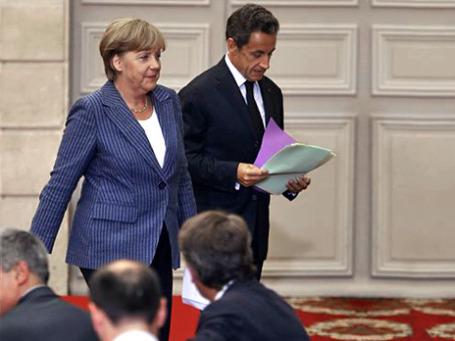 Встреча Ангелы Меркель с Николя Саркози не успокоила рынки. Фото: AP