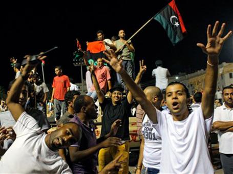 Каддафи теряет поддержку даже западных племен, которые всегда были опорой его режима. Фото: AP
