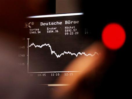 Фондовый рынок Германии практически проигнорировал резкое снижение индекса Ifo. Фото: AP
