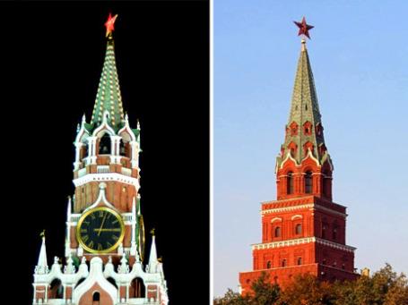 Будущее России может весьма отличаться от нынешних представлений башен Кремля. Фото: РИА Новости, cicerone2007.livejournal.com