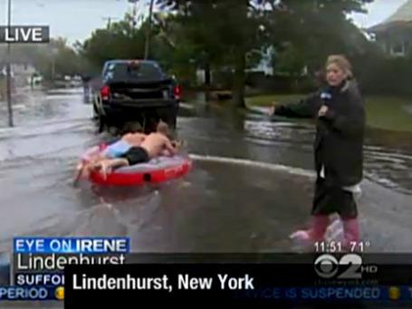 Фрагмент репортажа телеканала CNN из штата Нью-Йорк. Фото экрана сайта cnn.com