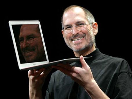 Основатель Apple Стив Джобс — самая упоминаемая в СМИ персона минувшей недели. Фото: AP