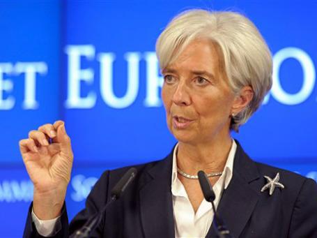 Эксперты посчитали, что глава МВФ Кристин Лагард подрывает доверие к банковской системе. Фото: AP