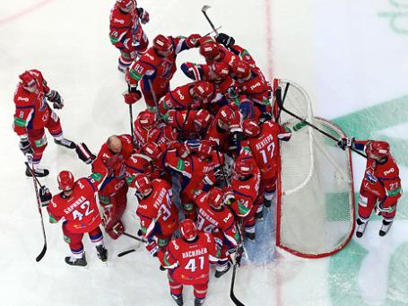 ХК «Локомотив» (Ярославль) сезона 2010/11. Фото: ИТАР-ТАСС