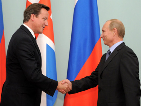 Дэвид Кэмерон стал первым британским лидером, который посетил Россию с 2006 года. Фото: РИА Новости