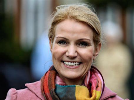 Хелле Торнинг-Шмитт может стать первой женщиной-премьером Дании. Фото: AP