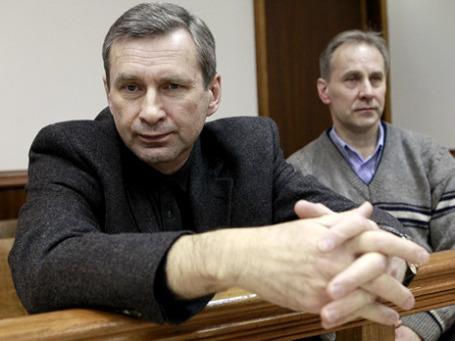 Бывшие сотрудники компании «Евросеть» Борис Левин и Андрей Ермилов. Фото: РИА Новости