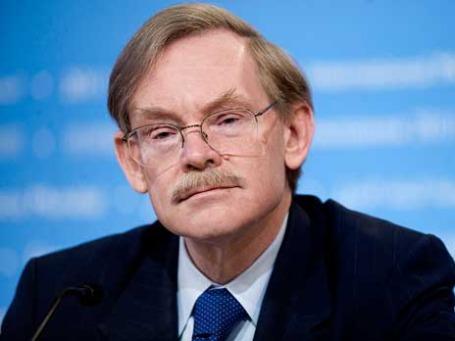 Президент Всемирного банка Роберт Зеллик призывает Европу надеяться на себя. Фото: Kristoffer Tripplaar / World Bank