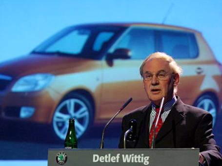 Детлефа Виттига, в прошлом главу компании Skoda, считают «архитектором» российского проекта Volkswagen. Фото: AP