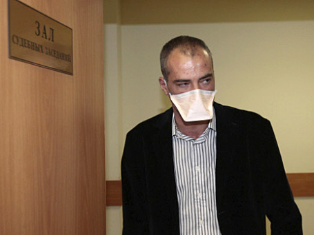 Василий Алексанян в зале Симоновского суда Москвы, июнь 2010 года. Фото: РИА Новости