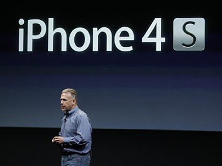 Фил Шиллер, вице-президент компании Apple. Фото: AP